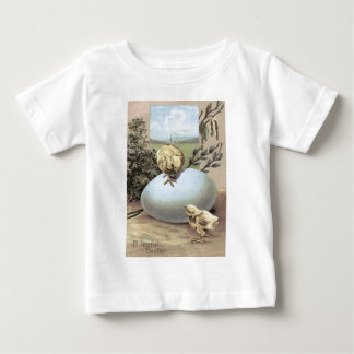 Easter Chick Egg Cotton Tee Shirts