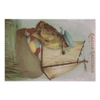 Easter Chick Egg Sail Ship Shoe Photo Art