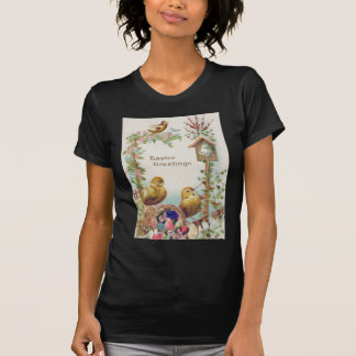 Easter Chick Forget-Me-Not Bell T-Shirt