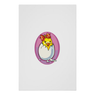Easter Chick Posters