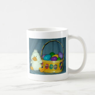 Easter Chick with Basket Coffee Mugs