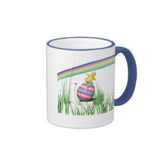 Easter Chicken Wings Coffee Mugs