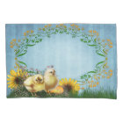 Easter Chickens (1 side) Pillowcase
