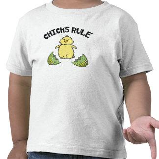Easter Chicks Rule Toddler Tees