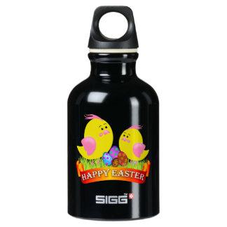 easter chicks water bottle