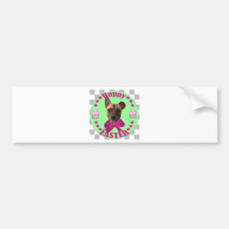 EASTER CHIHUAHUA BUMPER STICKERS