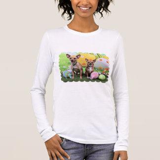 Easter - Chipin Rockwell - Chihuahua Rambo - Mahne Long Sleeve T-Shirt