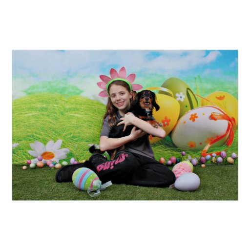 Easter - Chiweenie - Titus Posters