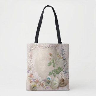 Easter Collage All-Over-Print Tote Bag