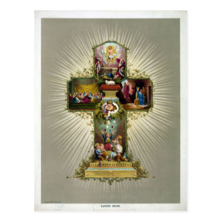 Easter Cross Postcard