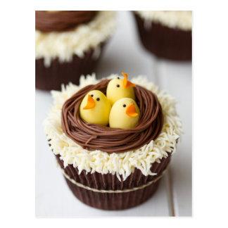 Easter Cupcakes Postcard