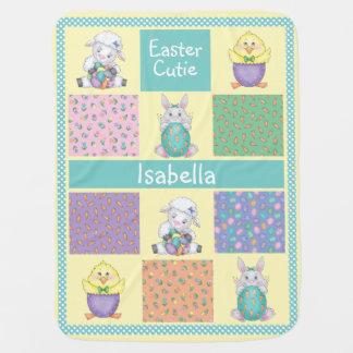 Easter Cutie Buggy Blanket