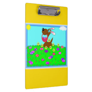 Easter Doggy Doodle Clipboard
