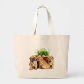Easter Dogue de Bordeaux pups Bags
