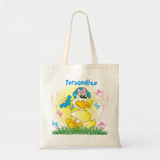 Easter Duck Egg Hunting Bag Tote Bags