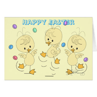 Easter Ducklings Greeting Cards, Post Cards, Note Greeting Card