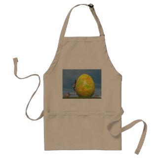 Easter egg - 3D render Standard Apron