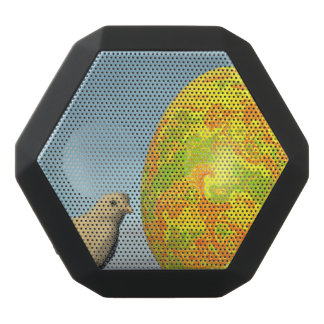Easter egg and chicks - 3D render Black Bluetooth Speaker