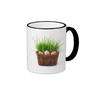 Easter Egg Basket Personalised  2014  Mug