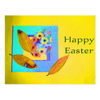 Easter Egg Collage - Customized Postcard