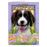 Easter Egg Cookies - English Springer Spaniel