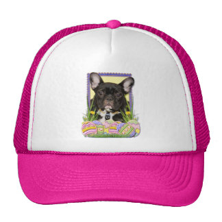 Easter Egg Cookies - French Bulldog Trucker Hats