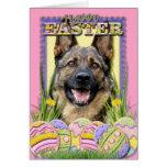 Easter Egg Cookies - German Shepherd