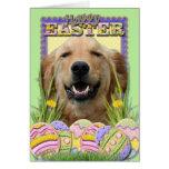 Easter Egg Cookies - Golden Retriever