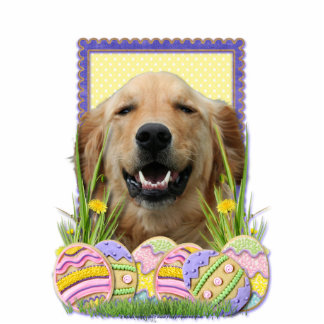 Easter Egg Cookies - Golden Retriever Cut Outs