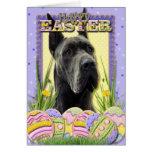 Easter Egg Cookies - Great Dane - Grey