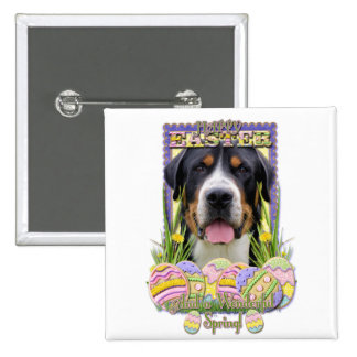 Easter Egg Cookies - Greater Swiss Mountain Dog Pin
