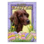 Easter Egg Cookies - Irish Setter