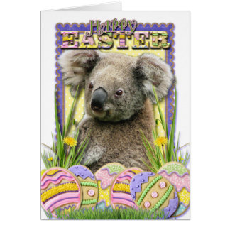 Easter Egg Cookies - Koala Card