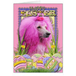 Easter Egg Cookies - Poodle - Pink