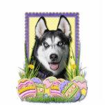 Easter Egg Cookies - Siberian Husky