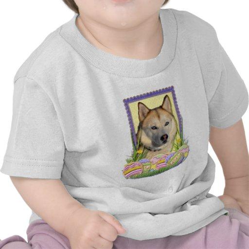 Easter Egg Cookies - Siberian Husky Copper Tee Shirt