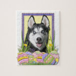 Easter Egg Cookies - Siberian Husky Puzzles