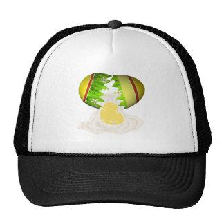 Easter Egg Cracked Trucker Hats