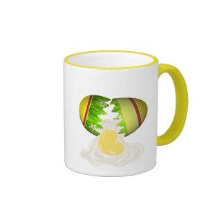 Easter Egg Cracked Mugs