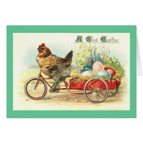 Easter Egg delivery service Card
