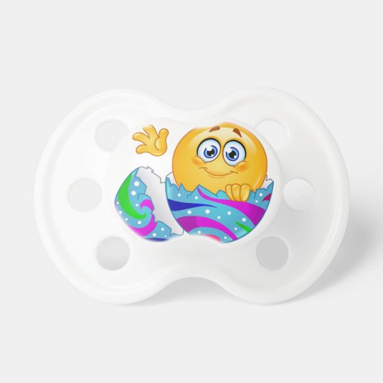 Easter egg Emoji Baby Pacifiers