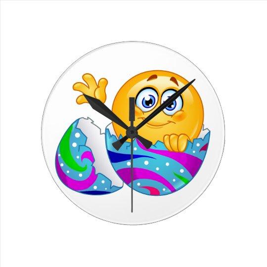 Easter egg Emoji Clock