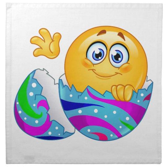 Easter egg Emoji Napkin