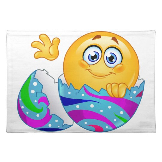 Easter egg Emoji Placemat