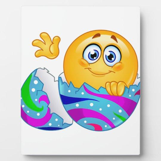 Easter egg Emoji Plaque