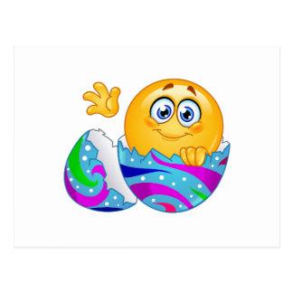 Easter egg Emoji Postcard