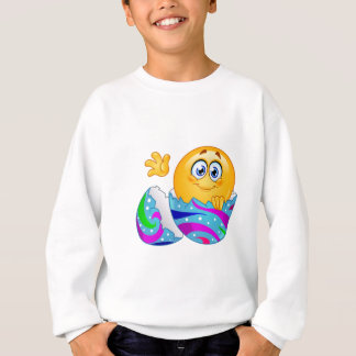 Easter egg Emoji Sweatshirt