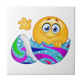 Easter egg Emoji Tile