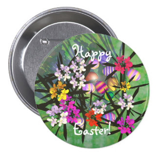 Easter Egg Garden Pin