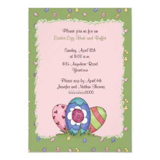 Easter Egg Hunt and Buffet Invitation